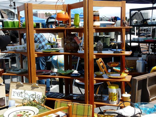 Retroda At The Long Beach Flea Market Long Beach Antique Market